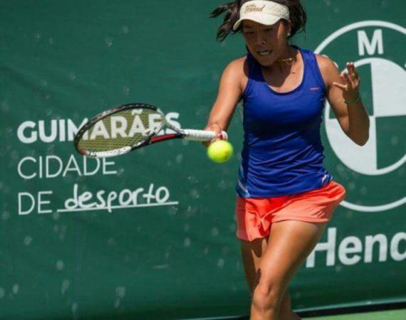 Marta Huqing en ITF Guimaraes 2017