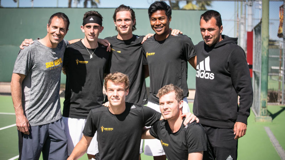 Arizona State has reinstated its men's tennis program