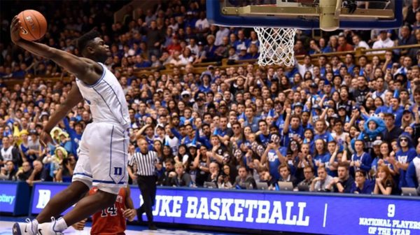 March Madness Zion Williamson